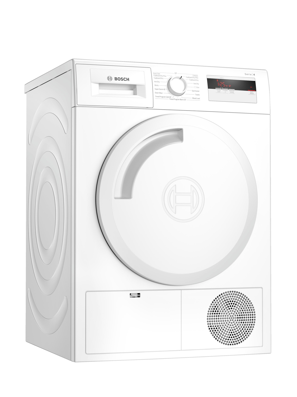 An image of Bosch WTH84000GB 8kg Heat Pump Tumble Dryer - White - A+
