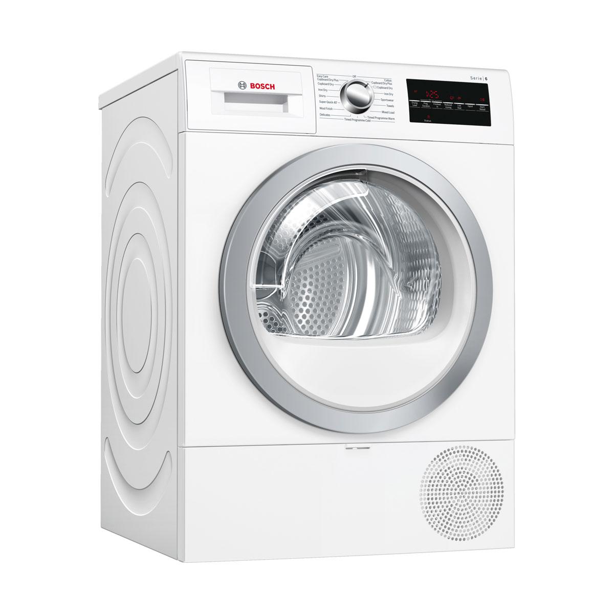 An image of WTR88T81GB 8kg Heat Pump Tumble Dryer