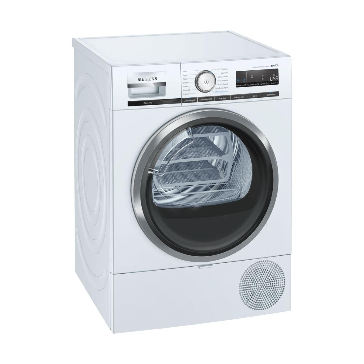 An image of WT48XRH9GB 9kg Heat Pump Tumble Dryer